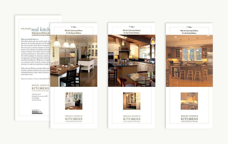 Branding Bailey Avenue Kitchens Graphic Design Portfolio Maida Design Ridgefield Ct