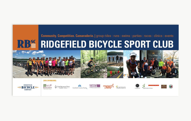Brand Identity Ridgefield Bicycle Company Graphic