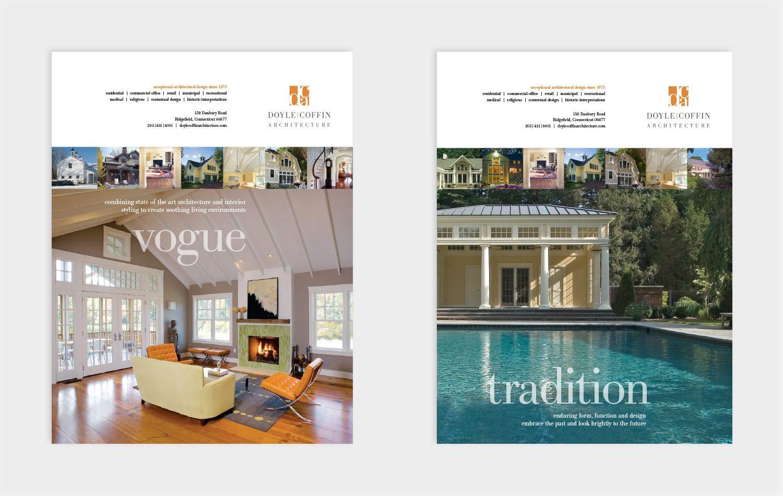 Advertising Doyle Coffin Architecture Graphic Design