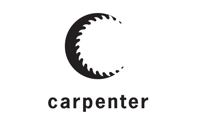 Logo Design Carpenter Construction Graphic Design Portfolio