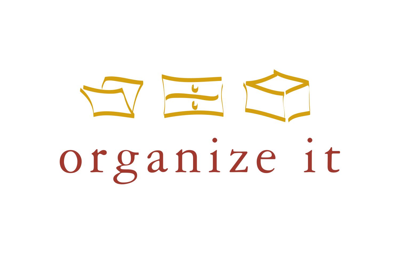 Logo Design Organize It Graphic Design Portfolio Maida Design Ridgefield Ct