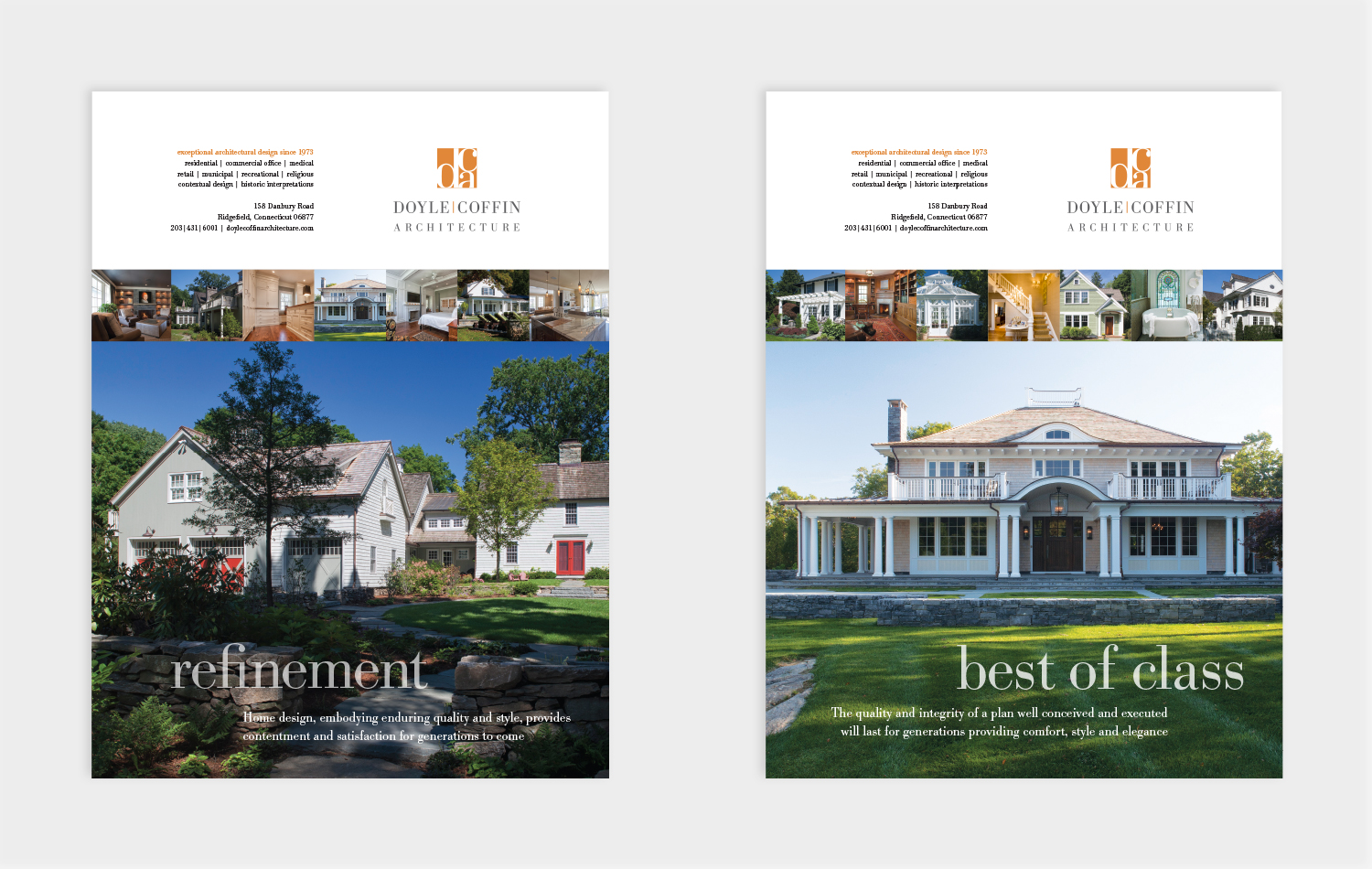 Advertising doyle coffin architecture graphic design for Ad architects
