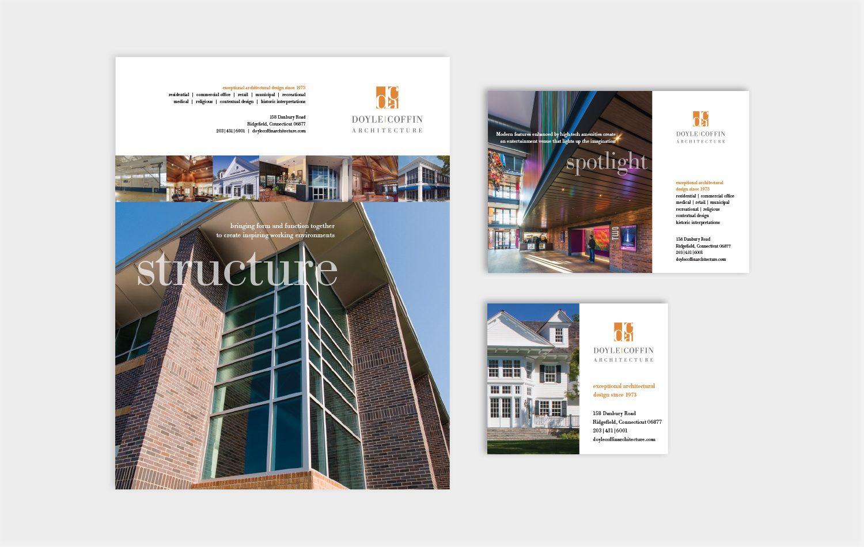 advertising: doyle coffin architecture | graphic design portfolio